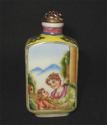 vintage snuff bottle