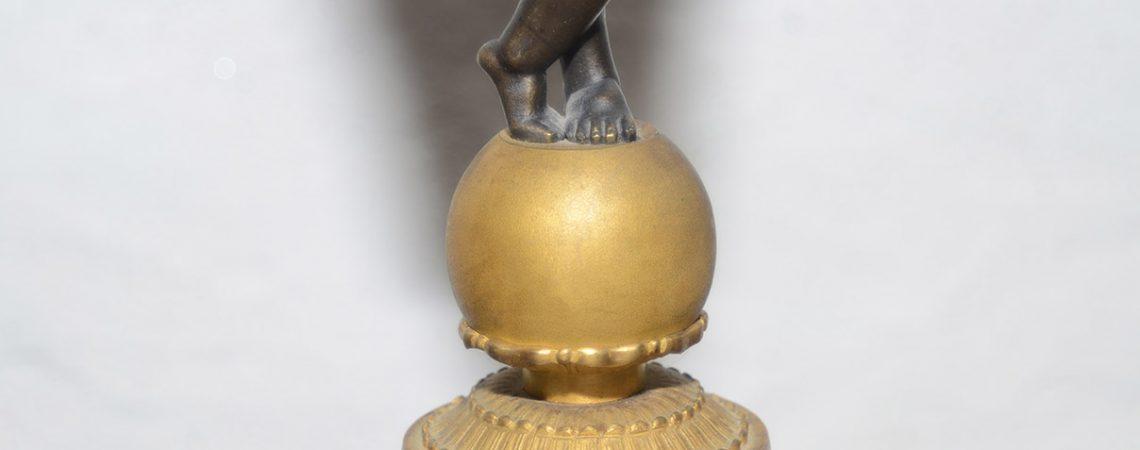 Candelabra gilded French